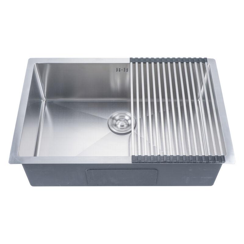 18 Gauge Undermount Stainless Steel Kitchen Sink Single Bowl