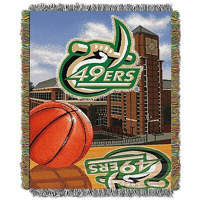 "For sale UNC North Carolina Charlotte Home Fld. NCAA 48""x60"" Woven Tapestry Throw Blanket"