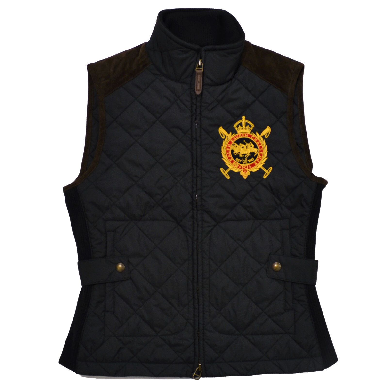 clothing orders womens on l product shoes back york women quilted puffer overstock marc quilt shipping black new vest large jacket knit s free over