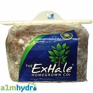 Exhale Co2 Bag Mushroom Homegrown Natural Generator With Hanger Hydroponics