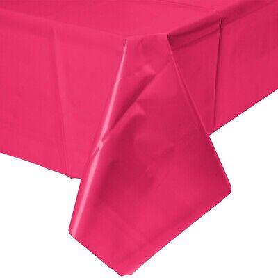 2 Plastic Rectangular Tablecloths 54
