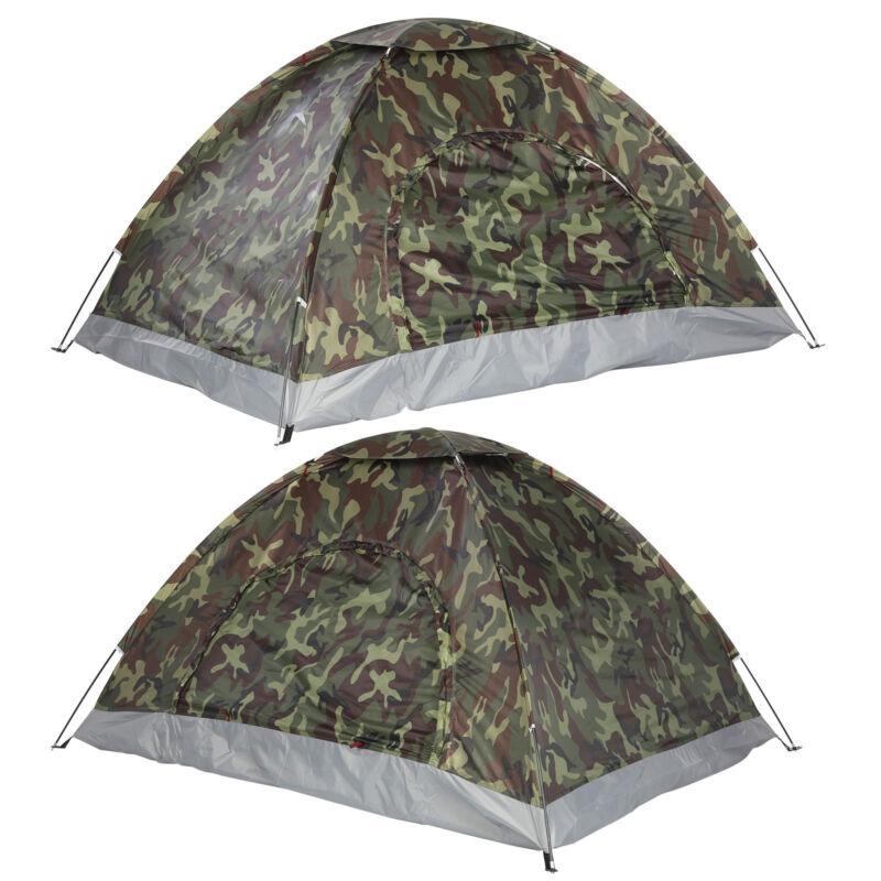 Tente Monodom 3 Personnes Igloo Camping en plein Air Mfh Bundeswehr Camo Neuf