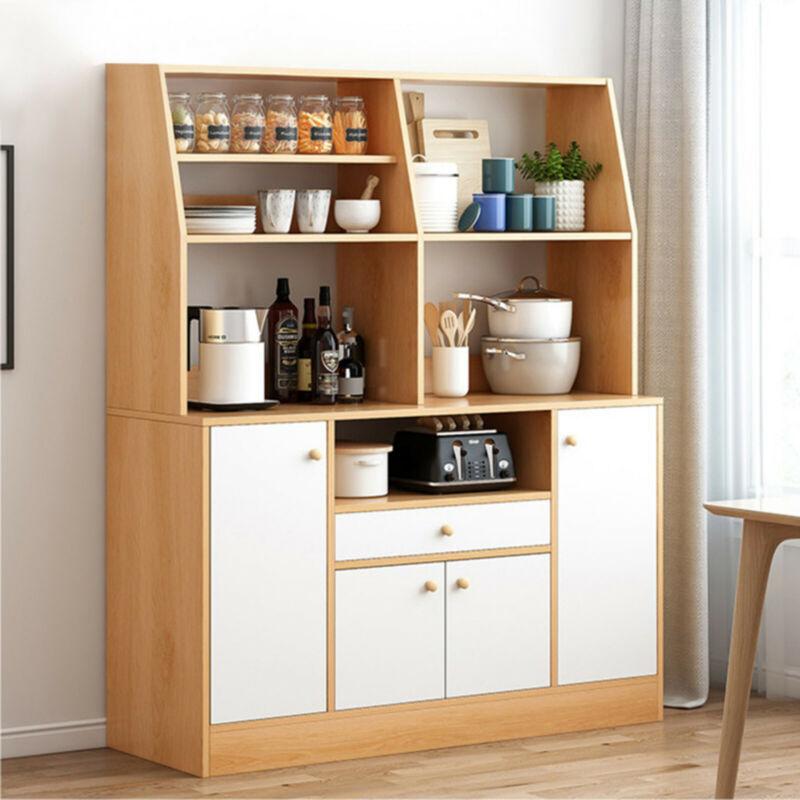 Kitchen Pantry Cupboard Organizer Storage Cabinet Furniture