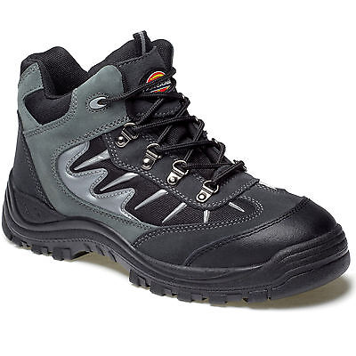 MENS DICKIES STORM STEEL TOE SAFETY WORK BOOTS UK 11 EU 45 FA23385A