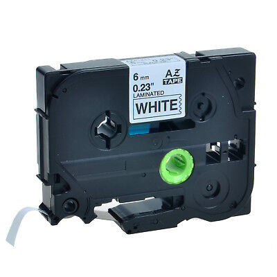 1pk Tz211 Tze211 Black On White Label Tape Brother P-touch Pt-d450 6mm 14