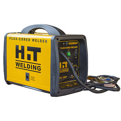 Hit 125 Amp Flux-cored 120v Welder Includes 6 Ft. Mig Torch  6.5 Ft. Ground...