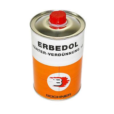Büchner Erbedol Härter Verdünnung Lackverdünnung 1000 ml 15,50 €/L