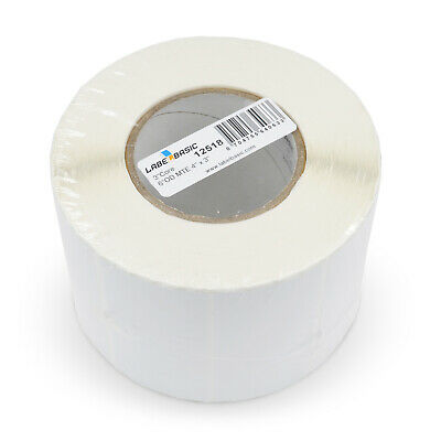 Labels For Primera Lx2000 Printer 4 X 3 1050 Matte Labels Per Roll