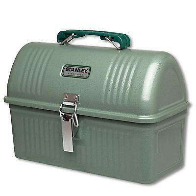 STANLEY Classic Lunch Box 5,2 L Hammerschlag-Lack grün - Stahl - Outdoor Brotbox