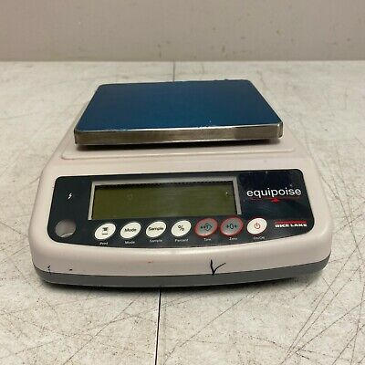 Rice Lake Eq-3000 Equipoise Balance 3000g Scale Only Unit Only