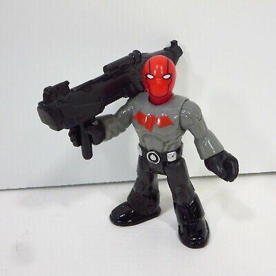 "Imaginext RED HOOD 3"" figure Batman DC Super Friends Blind Bag Series"