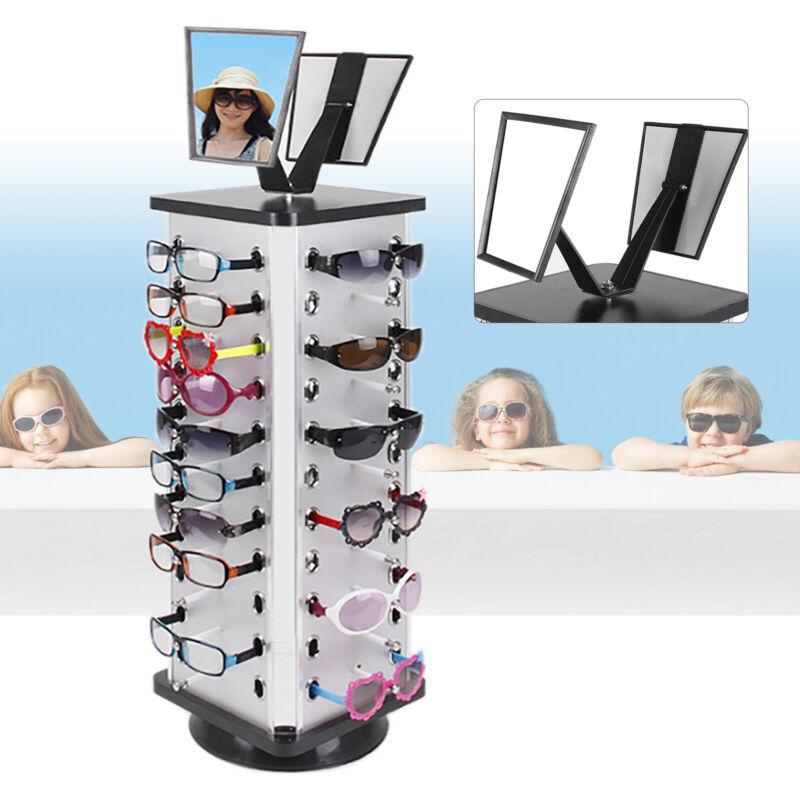 Sunglass Display Rack 360° Rotating Sunglass Holder 44-Pair Glasses Organizer