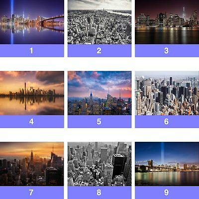 New York City Manhattan Skyline Wall Mural Photo Wallpaper NY-WM