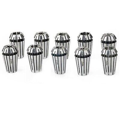 Ultra Precision Er16 Collet Set 332 To 38 10pcs Tir0.00025m Cnc Tools