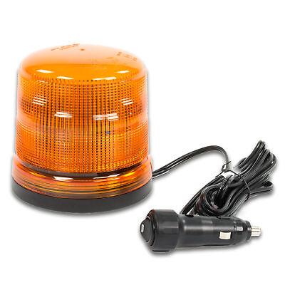 LED-MARTIN Rundumleuchte SESTO - 11 Blitzmuster - gelb - Magnetfuß - 12V 24V. Pr