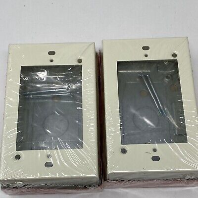 2 New Wiremold Legrand Switch And Receptacle Box 2000 V2048 Series Raceway
