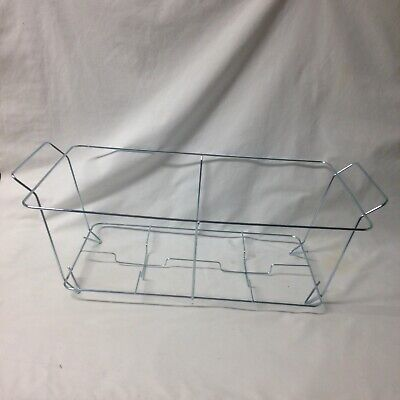 Lot Of 7 Metal Wire Chafing Racks Restaurant Equipment Full Size Steam Pan