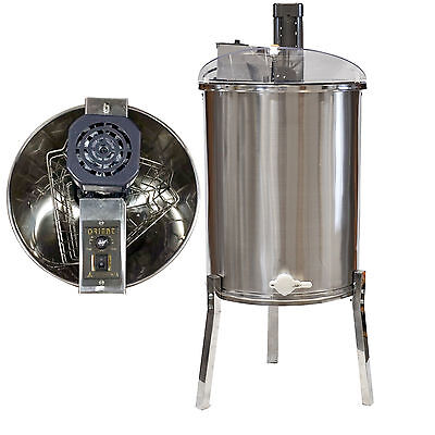 Pro Electric 3 Frame Stainless Steel Honey Extractor Beekeeping Equipment