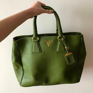 0226efbafb64 Prada Vitello Daino Leather Tote Bag BN2423