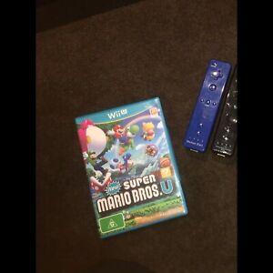 Wii U super Mario bros U and wii controllers Perth Perth City Area Preview