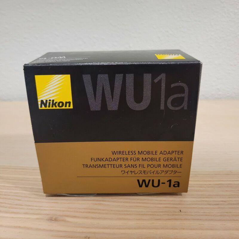 Nikon WU-1a Wireless Mobile Adapter Camera OEM WU1a - Never Used! Genuine