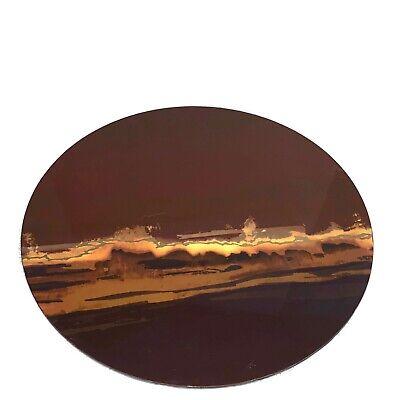 Kim Seybert Horizon Placemats Set of 4 Round Laquer