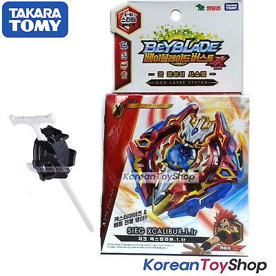 Beyblade Burst B 92 Sieg Xcaliber 1  Ir W  Launcher Takara Tomy Original Box