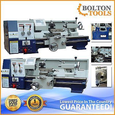 Bolton Tools 12 X 24 Bench Top Gear Head Metal Lathe Cq9332 Free Shipping