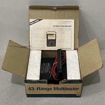 Multitester Micronta 43-range Voltsamps No. 22-214