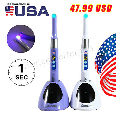 I Led Dental Curing Light 2300mwcm Curing Lamp 360 Degree Sandent 1s Sale Hot