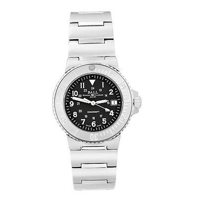 Ball Railroader Men's 200M Diver Swiss Made Watch ETA Movement  DM1011B-1BK Diver Swiss Made Watch