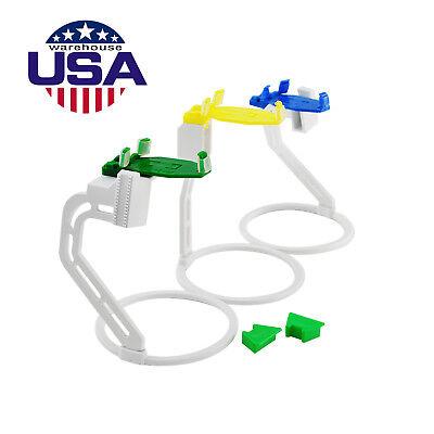 Us 3pc Dental X-ray Sensor Signal Positioner Aligner Film Holder Locator System
