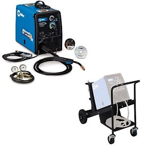 MILLER MILLERMATIC 211 W/HD CART MIG WELDING PKG 907422