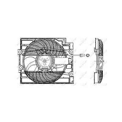 Genuine NRF Engine Cooling Radiator Fan - 47211