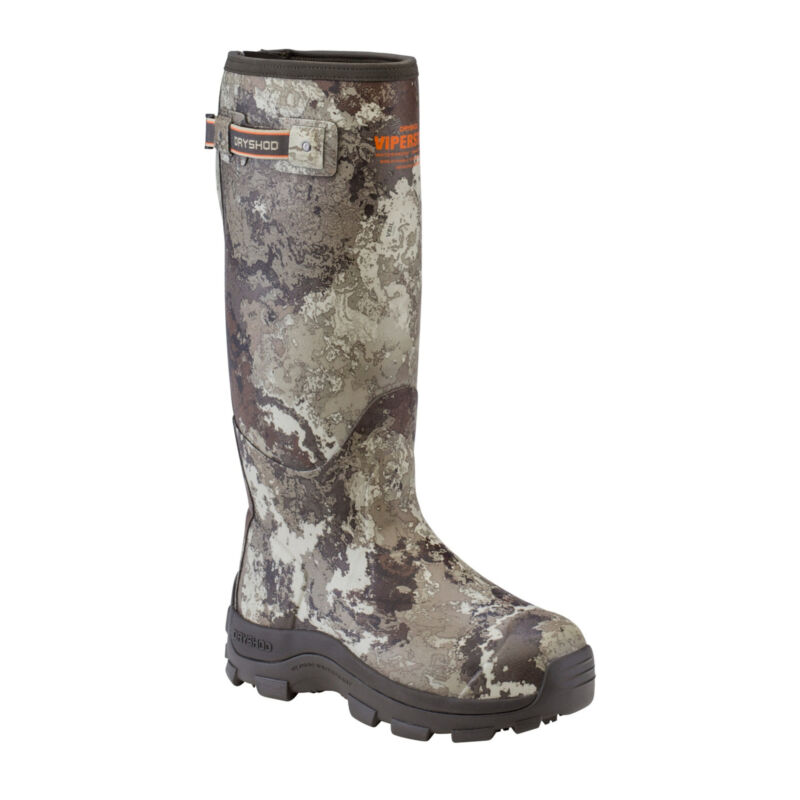 DryShod ViperStop Snake Mens Hunting Boot with Gusset Size 11 Veil Alpine Green
