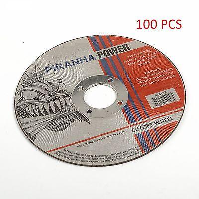 "( 100pcs )  Cut-Off Wheel 4-1/2"" X 1/16"" X 7/8"" (Pirahna Power)"