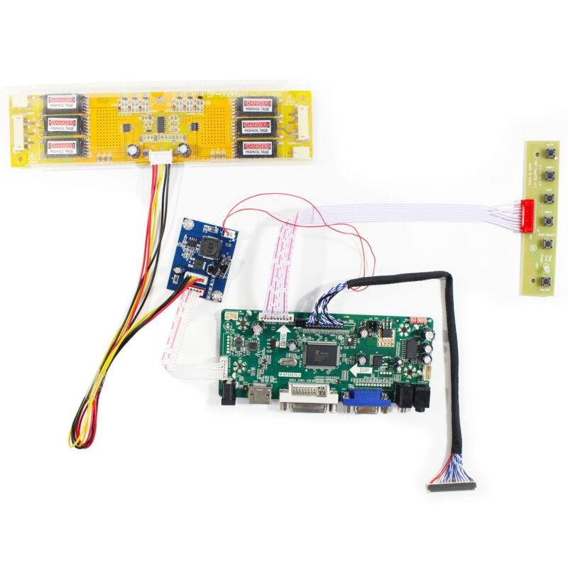 HD MI VGA DVI LCD Controller Board M.NT68676 For 20.1 in LM201U05 LCD Screen
