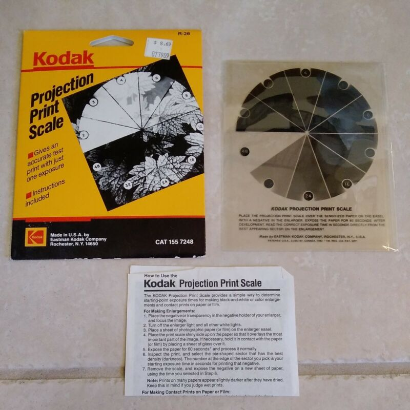 Kodak Projection Print Scale R-26