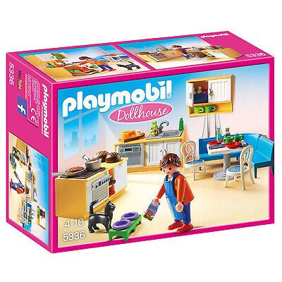 Playmobil Dollhouse Country Kitchen Building Set 5336 NEW Learning Toys