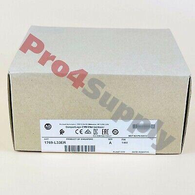 2020 New Sealed Allen-bradley Compactlogix 2 Mb Enet Controller 1769-l33er