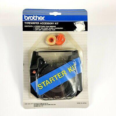 Brother Intl Sk100 Starter Kit 3 1030 Ribbons 1 3010 Lift Off Tape 1 Script