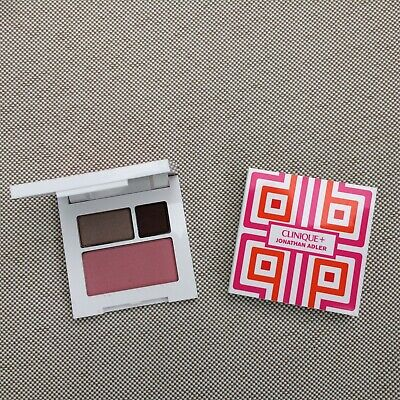 Jonathan Adler Clinique Eye Shadow Duo MORNING JAVA & FOXIER & BLUSHER 08 CUPID