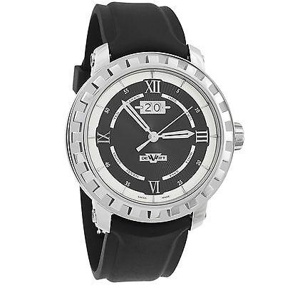 DeWitt Academia Grande Date Steel Automatic Men's Watch NAC.GDE.001