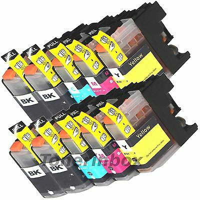 10pk Ink Cartridge For Brother LC203 LC-203 XL MFC-J680DW MFC-J880DW MFC-J885DW Brother Ink Cartridge Cartridges