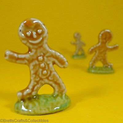 Wade Whimsies (Series 4 Retail) Set #4 (2001) Nursery (B) - #24 Gingerbread Man for sale  Canada