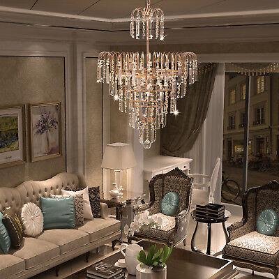 Elegant Crystal Decoration Chandelier Luxury Fixture Pendant Ceiling Lamp - Chandelier Decoration