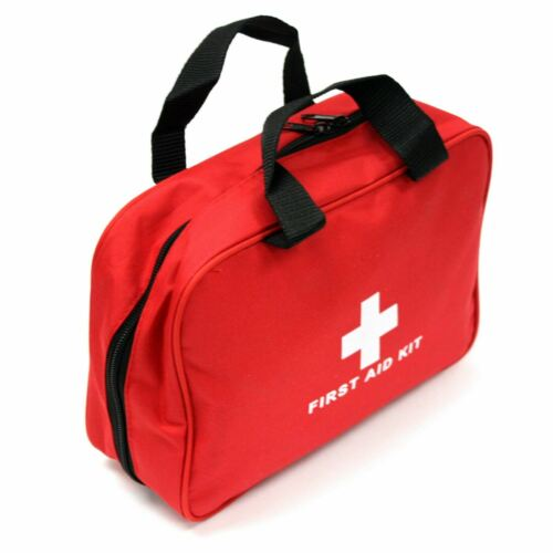 NEW 232PC FIRST AID KIT BAG ALL PURPOSE EMERGENCY SURVIVAL HOME CAR MEDICAL BAG