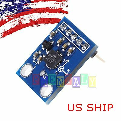Adxl335 3-axis Accelerometer Angular Transducer Module Analog Output For Arduino