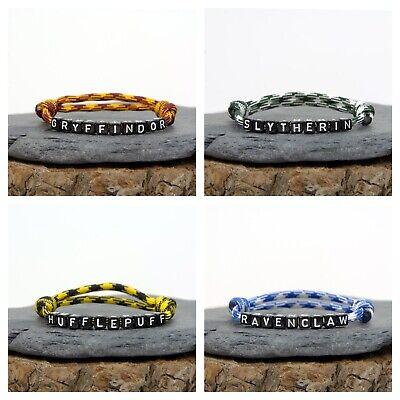 Harry Potter Bracelet - Hogwarts - Gryffindor, Slytherin, Hufflepuff, Ravenclaw