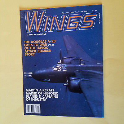 WINGS VOLUME 26 NUMBER 1 FEBRUARY 1996 - SEE PHOTOS